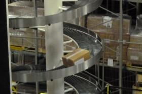 Spiral Conveyor in action