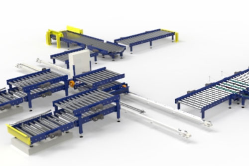 robotics and automation conveyor systems