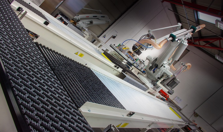 A CKF conveyor forms an integral part of this automated system