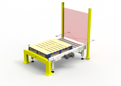 Pallet Outfeed Assembly - not rendered