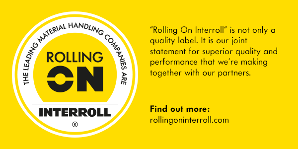 CKF Systems are selected to be part of the Rolling on Interroll programme