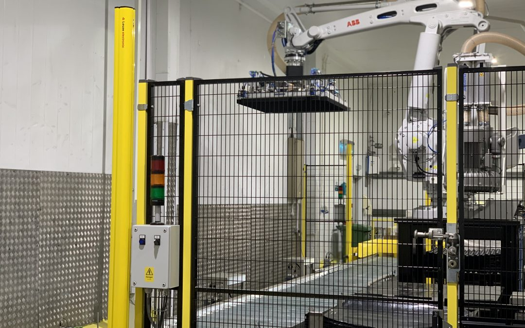 CKF Systems automate temperature controlled manual handling process at the Rick Bestwick Chesterfield facility