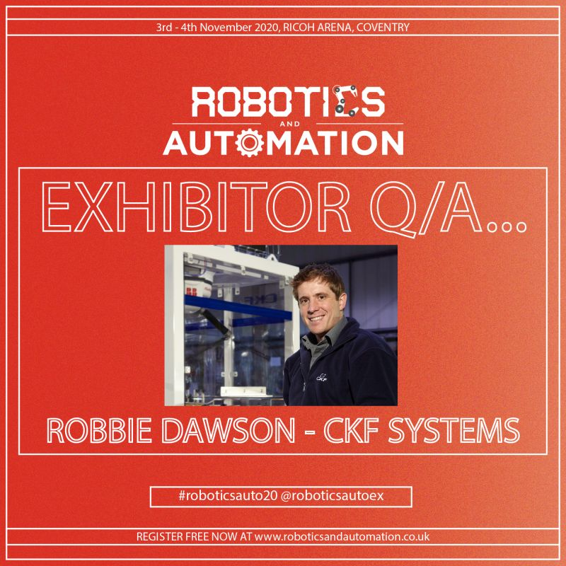 Five minute interview with Robbie Dawson, CKF Sales and Marketing Manager