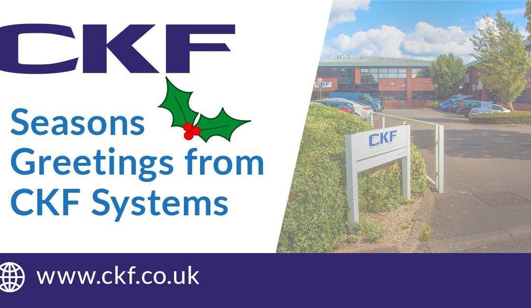 Seasons Greetings from all at CKF Systems