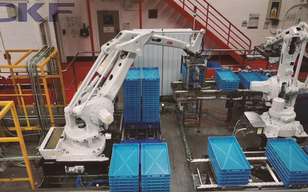 Robotic tray handling solution installed by CKFion
